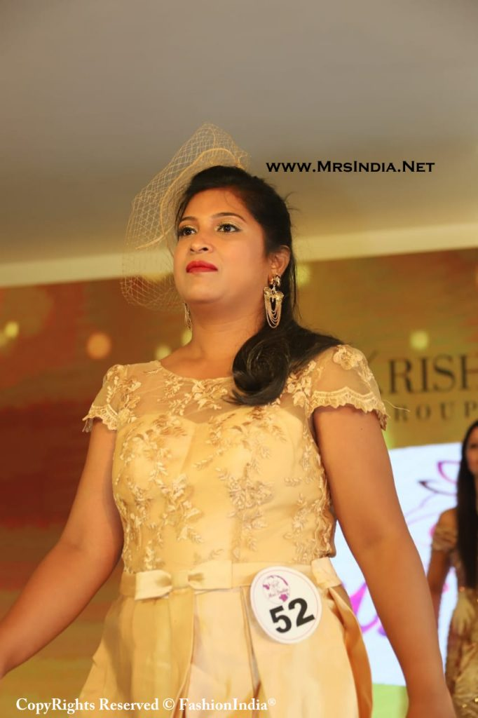 Mrs India 2020 2021 C Krishna Chetty Group of Jewell